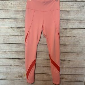 Free People  Peach Movement Leggings Size Medium